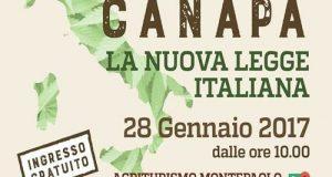 A Conversano (BA), il 28 gennaio si terrà l'evento organizzato da CanaPuglia sulla nuova legge italiana sulla Canapa promossa dal M5S