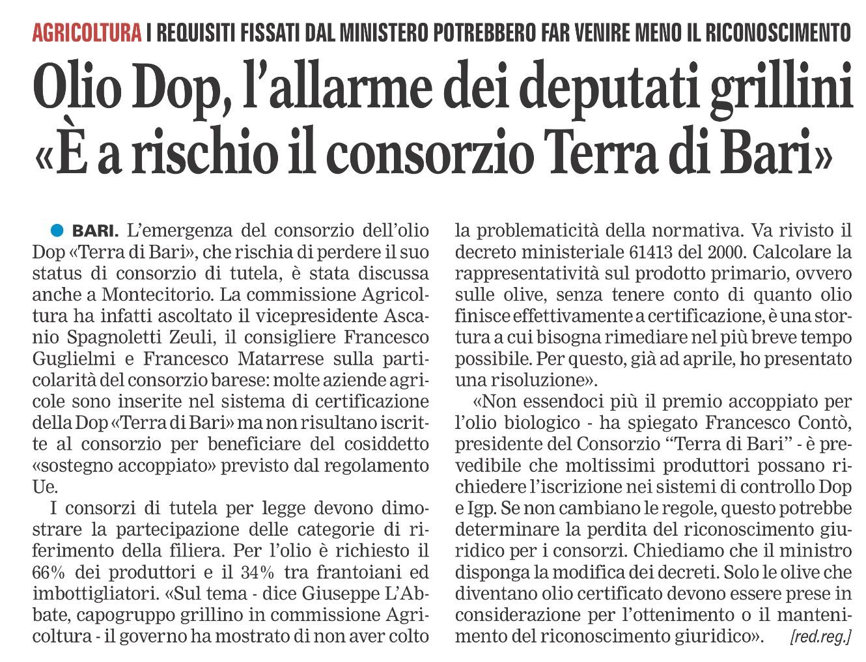 La Gazzetta del Mezzogiorno - 13.06.2016