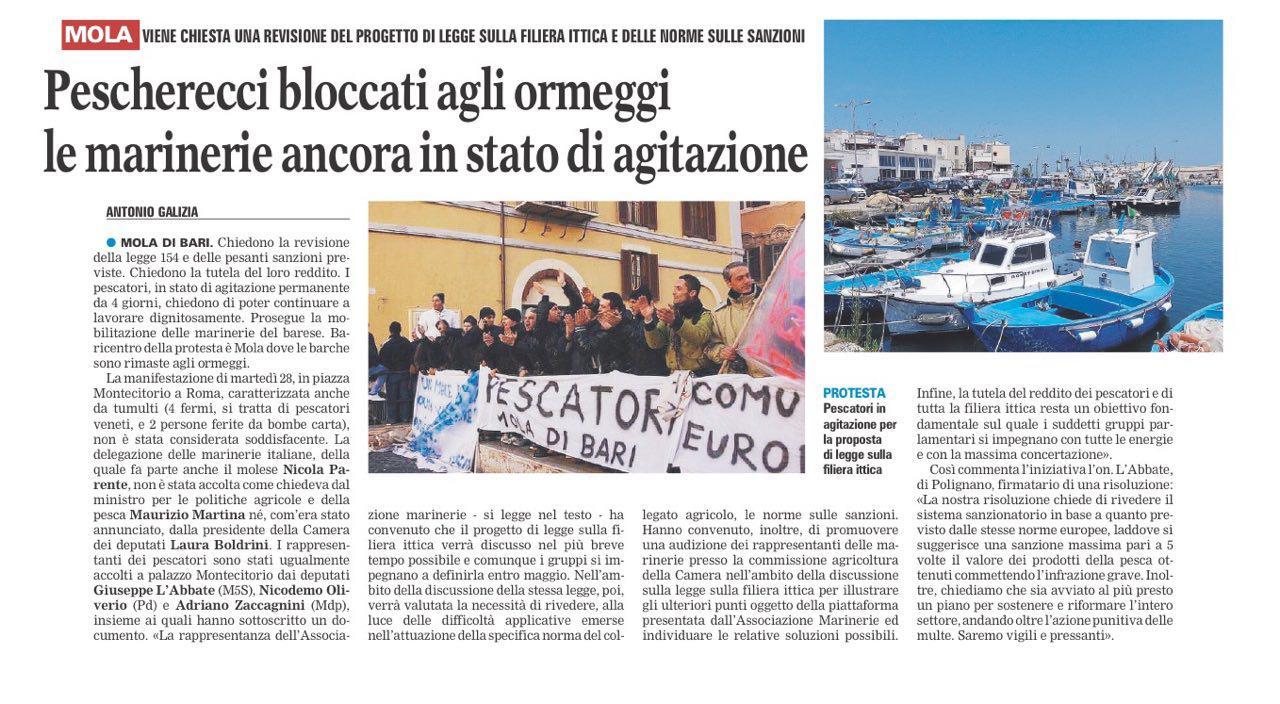 La Gazzetta del Mezzogiorno - 03.03.2017