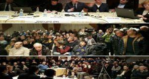 Evento organizzato a Genzano di Lucania dall'europarlamentare Pedicini e da GranoSalus relativo alla qualità del grano utilizzato per pane e pasta in Italia