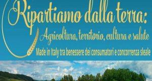 Convegno organizzato dalla europarlamentare M5S Isabella Adinolfi sul comparto agricolo a Foggia incentrato sul grano e le altre produzioni pugliesi