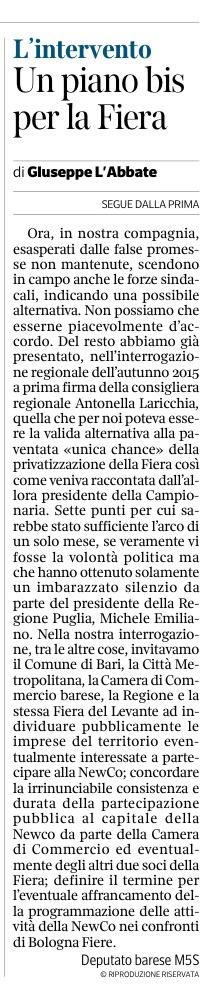 Il Corriere del Mezzogiorno - 01.07.2017