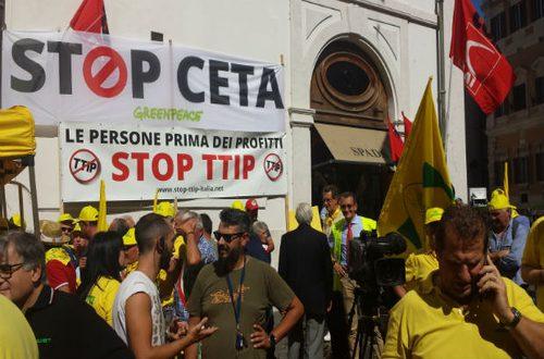 L'accordo di libero scambio CETA tra Ue e Canada vede la netta opposizione del M5S per fermare una liberalizzazione incontrollata