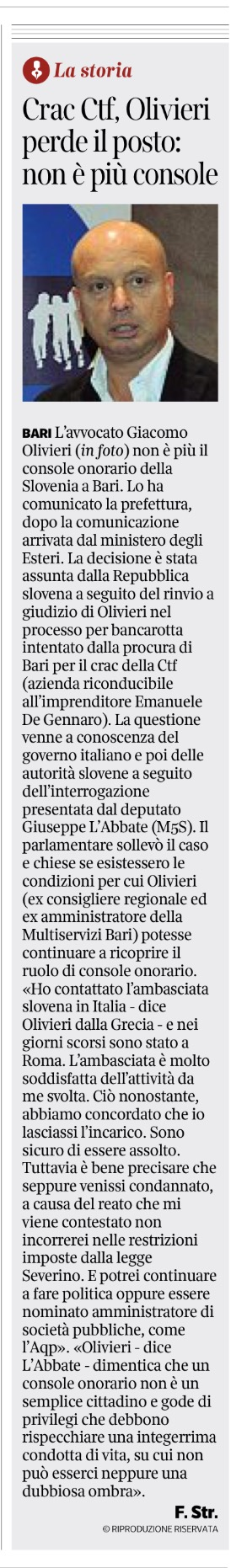 Il Corriere del Mezzogiorno - 02.08.2017