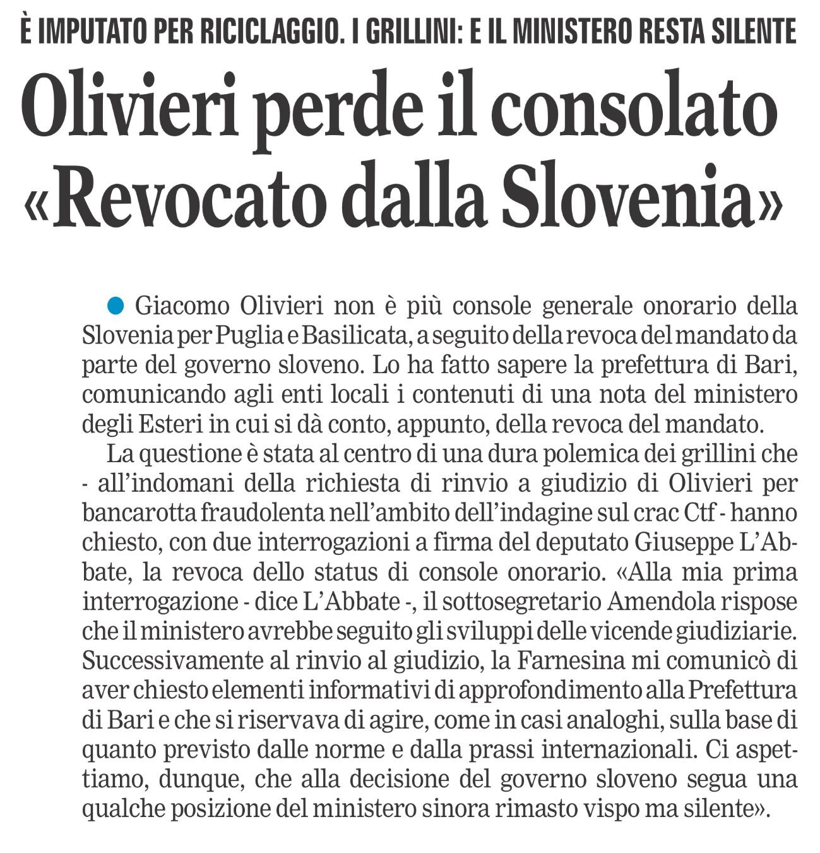 La Gazzetta del Mezzogiorno - 02.08.2017