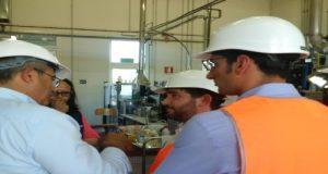 Con i colleghi 5 Stelle Gallinella e Gagnarli, ho fatto visita allo stabilimento di Minerbio (BO) per la produzione di zucchero da barbabietola