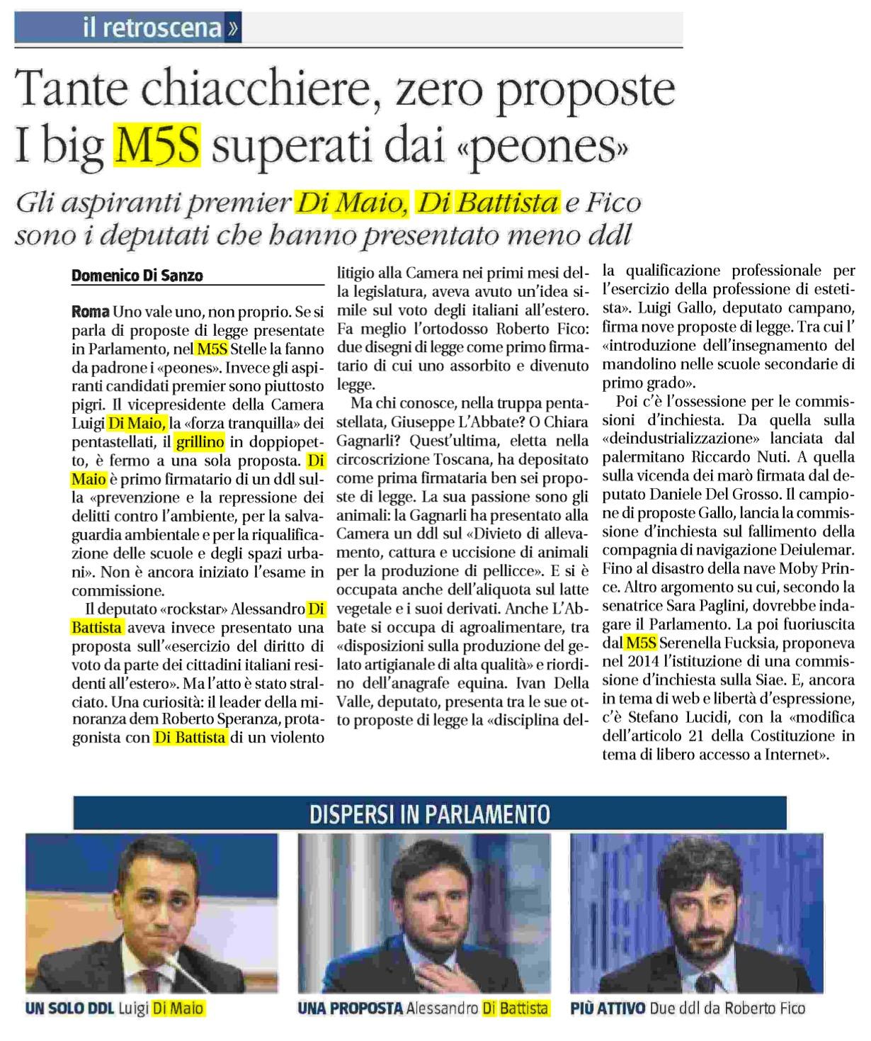 Il Giornale - 09.01.2017