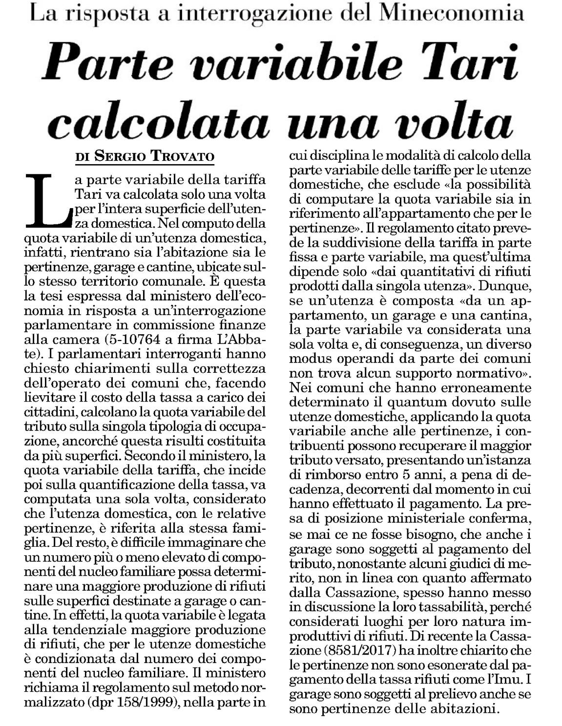 Italia Oggi - 02.11.2017