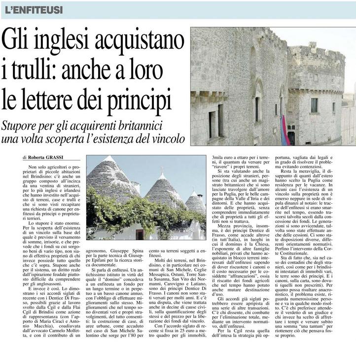 Il Nuovo Quotidiano di Puglia - 18.11.2017
