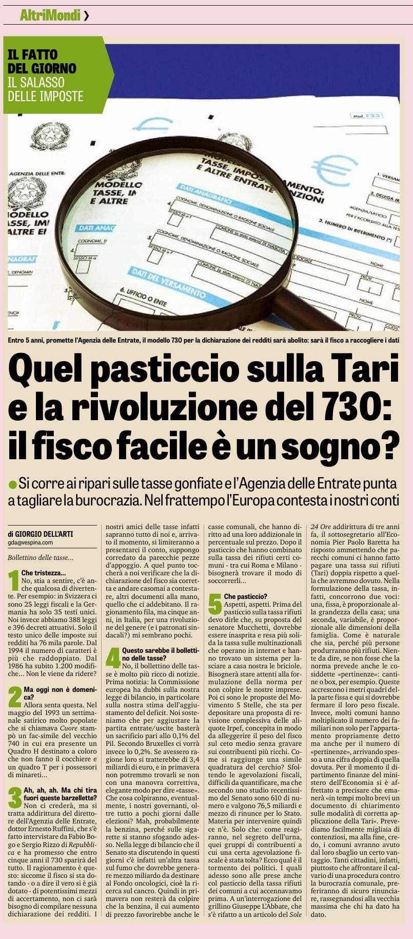 La Gazzetta dello Sport - 12.11.2017