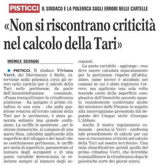 La Gazzetta del Mezzogiorno - 29.11.2017