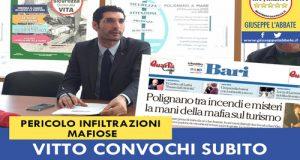 Alla luce delle nuove notizie stampa sugli interessi mafiosi su Polignano, torniamo a chiedere un consiglio comunale monotematico