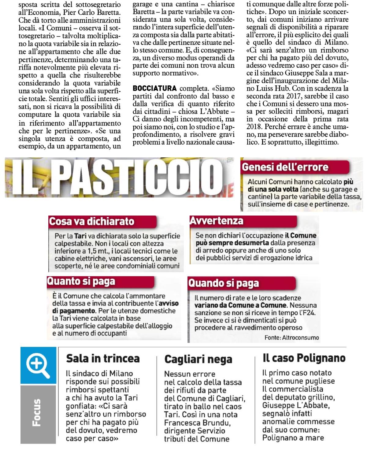 Il Quotidiano Nazionale - 11.11.2017