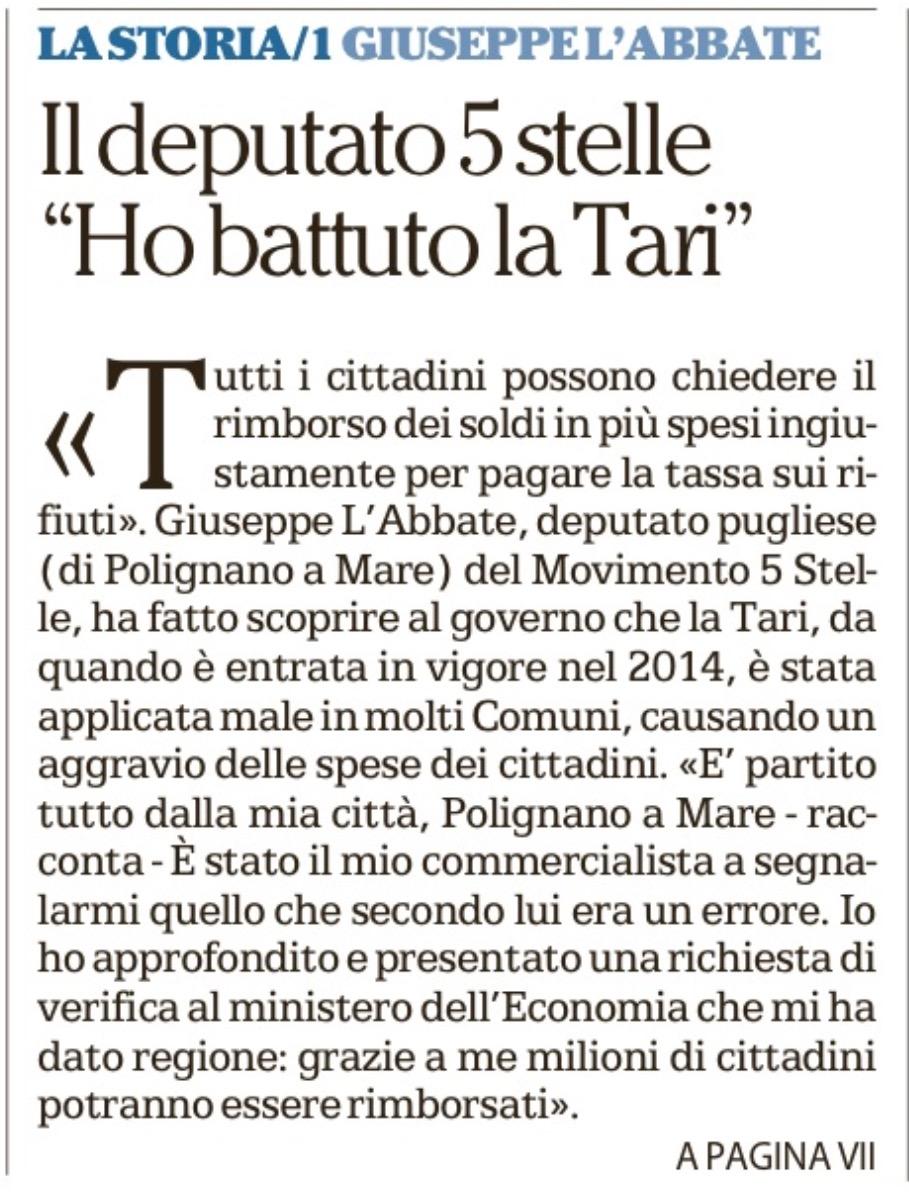 La Repubblica Bari - 11.11.2017