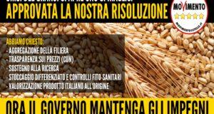 In Commissione Agricoltura alla Camera dei Deputati, giunge l'approvazione all'unanimità della mia risoluzione per il futuro del comparto cerealicolo nazionale