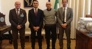 Con il nostro candidato Presidente Luigi Di Maio ho incontrato due delegazioni della Polizia Locale per affrontare le loro questioni più scottanti in previsione di un Governo M5S