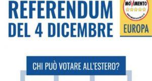 In vista del Referendum Costituzionale, i residenti temporaneamente fuori regione per cause relative al lavoro, allo studio o per malattia possono votare