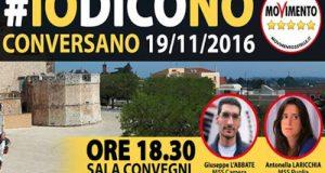 Incontro-dibattito presso san Benedetto a Conversano per analizzare la riforma costituzionale Renzi-Boschi in vista del Referendum del 4 dicembre