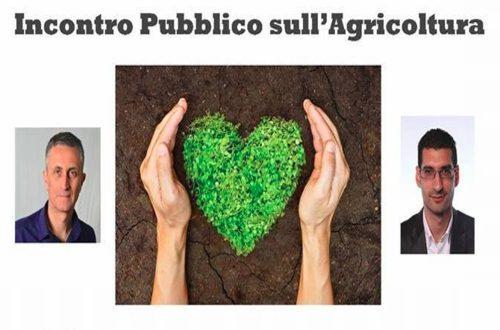 A Castellana Grotte a supporto del candidato sindaco Michele Mastrosimini (M5S) per parlare di accesso al credito nel comparto agricolo