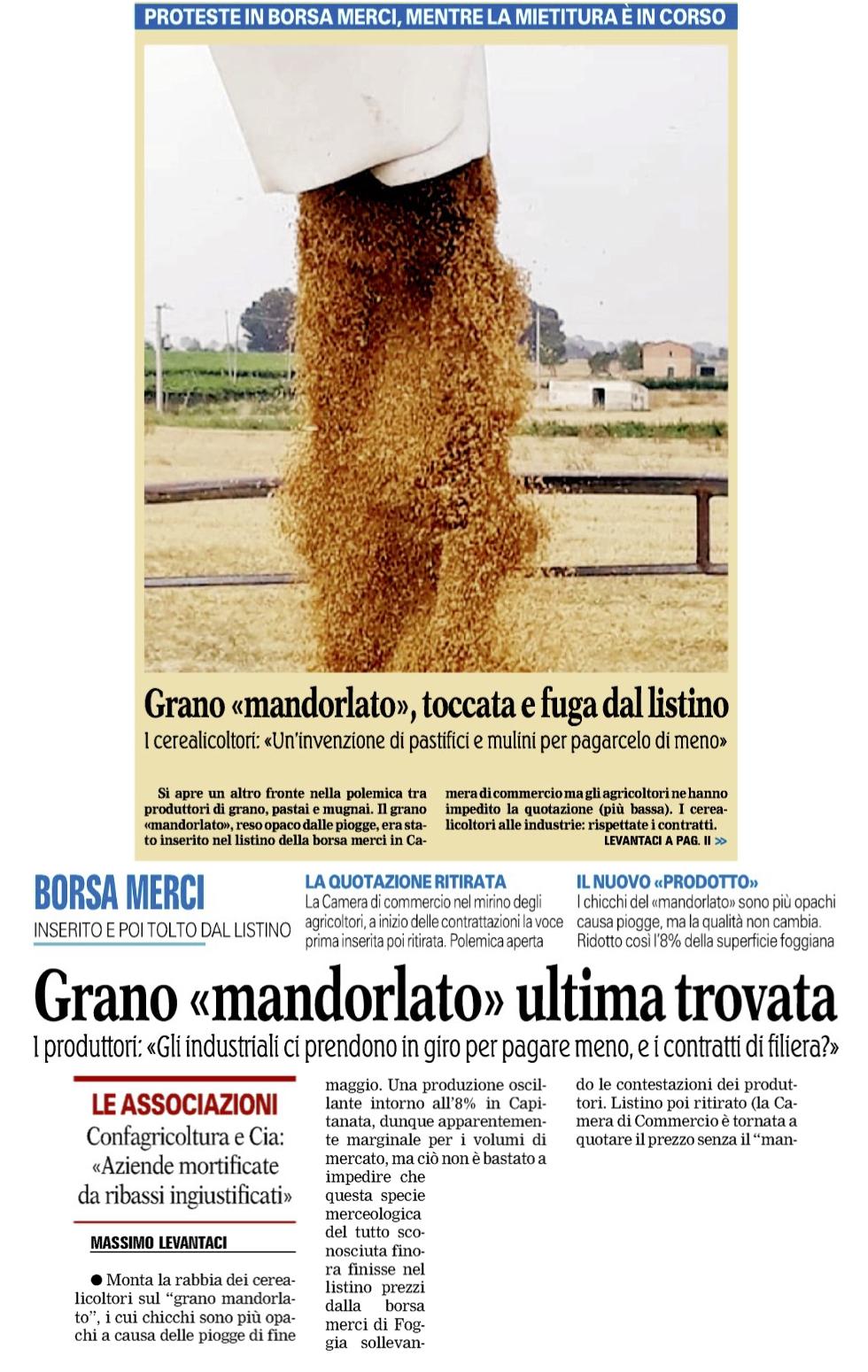 La Gazzetta del Mezzogiorno - 29.06.2018