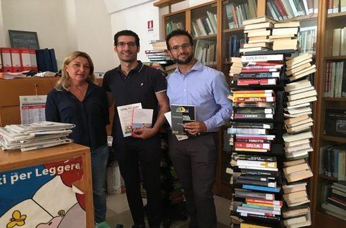 Tutti i libri e le pubblicazioni raccolte nei 5 anni della XVII Legislatura sono stati consegnati alla biblioteca comunale di Polignano