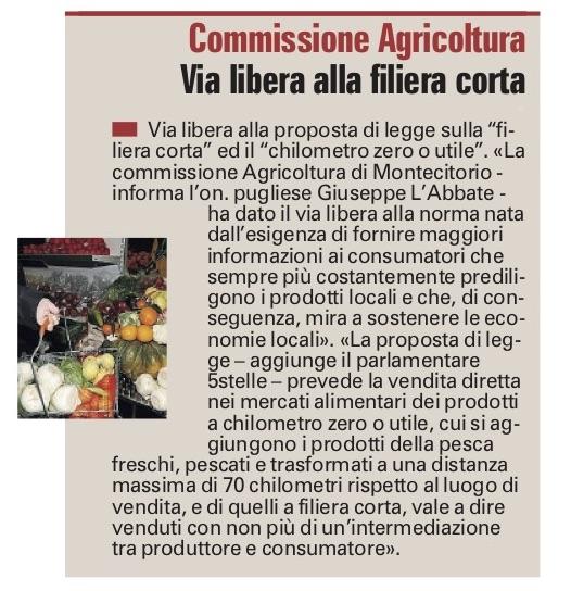 La Gazzetta del Mezzogiorno - 15.10.2018