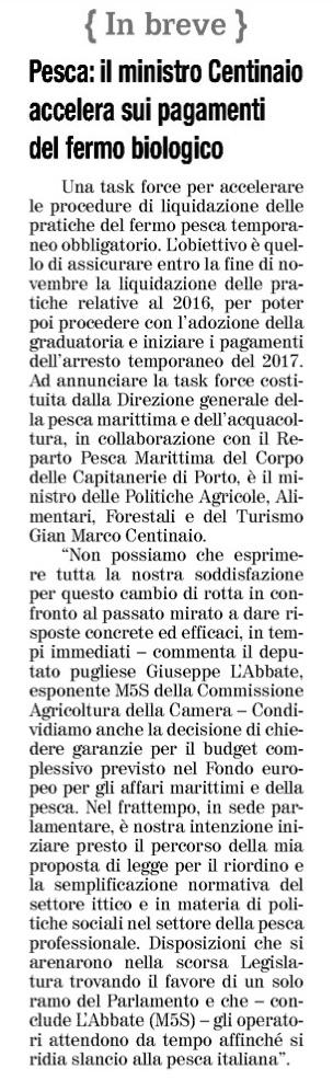 Il Quotidiano di Foggia - 6.10.2018