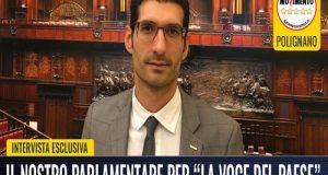 Intervista rilasciata a La Voce del Paese edizione di Polignano a Mare (BA) il 19.01.2018 sull'imminente campagna elettorale per le elezioni politiche 2018