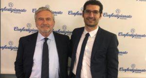 Giuseppe L'Abbate (M5S) con il Presidente Nazionale AIFO